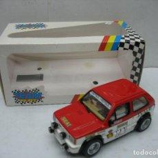 Slot Cars: ¿SCALEXTRIC? TEAM SLOT REF: 72401 - COCHE DE CARRERAS SEAT PANDA SAINZ REPSOL. Lote 121136775