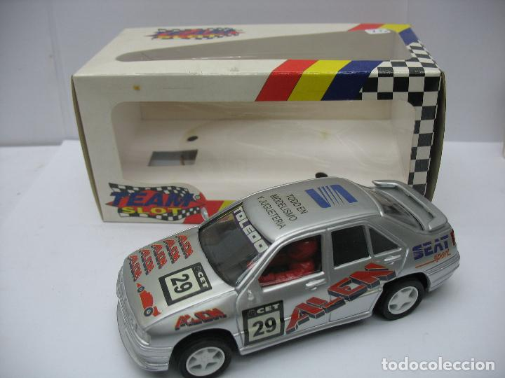 ¿SCALEXTRIC? TEAM SLOT REF: 10202 - COCHE DE CARRERAS SEAT TOLEDO 29 (Juguetes - Slot Cars - Team Slot)