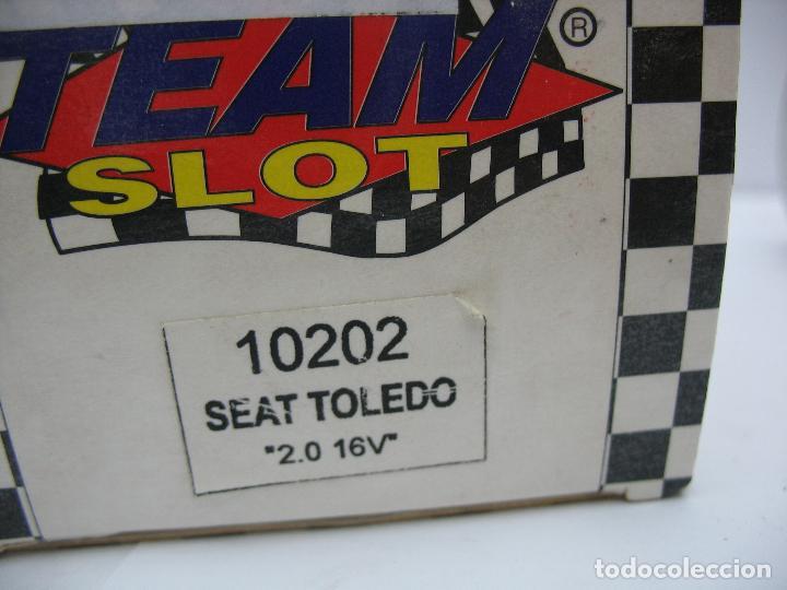Slot Cars: ¿SCALEXTRIC? TEAM SLOT Ref: 10202 - Coche de carreras Seat Toledo 29 - Foto 8 - 122698575