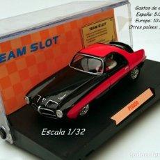 Slot Cars: TEAM SLOT REF 74601 PEGASO THRILL / ÚNICO 1º SERIE ORIGINAL PINTADO A MANO. Lote 56655814
