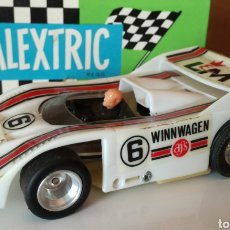 Slot Cars: RARO INDY FLYER AJS WINNWAGEN SLOT TIPO SCALEXTRIC. Lote 126563418
