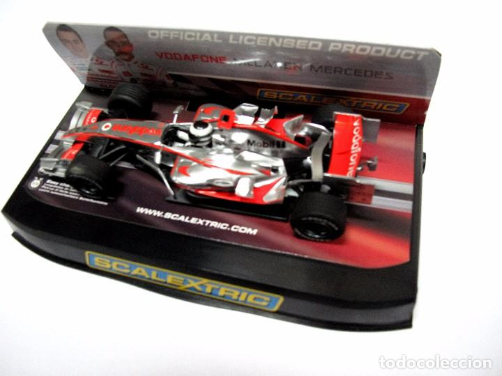 Slot Cars: * SCALEXTRIC Vodafone McLaren Mercedes F. ALONSO , SLOT - Foto 2 - 128875323