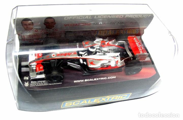 Slot Cars: * SCALEXTRIC Vodafone McLaren Mercedes F. ALONSO , SLOT - Foto 4 - 128875323