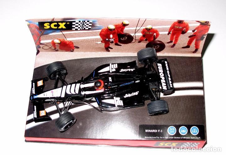 * SCX MINARDI F-1 , AUSTRALIA 2001 , TECNITOYS , 1:32 PRACTICAMENTE NUEVO (Juguetes - Slot Cars - Team Slot)