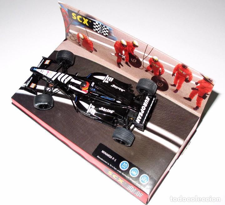 Slot Cars: * SCX MINARDI F-1 , Australia 2001 , TecniToys , 1:32 PRACTICAMENTE NUEVO - Foto 2 - 128876595