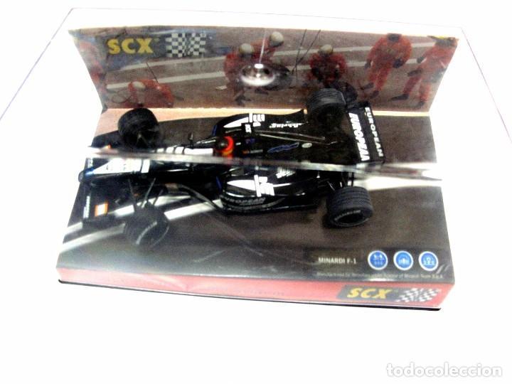 Slot Cars: * SCX MINARDI F-1 , Australia 2001 , TecniToys , 1:32 PRACTICAMENTE NUEVO - Foto 5 - 128876595