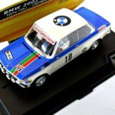 Slot Cars: * BMW 2002 TONY FALL , OLYMPIA RALLY 72 , 1:32 , SPIRIT , NUEVO , NO A SIDO RODADO. Lote 128877751