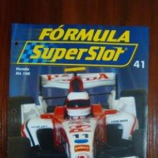 Slot Cars: FORMULA SUPERSLOT - COLECCIONABLE PLANETA DEAGOSTINI - NUMERO 41 - HONDA RA 106. Lote 134838542