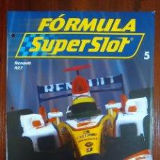 Slot Cars: FORMULA SUPERSLOT - COLECCIONABLE PLANETA DEAGOSTINI - NUMERO 5 - RENAULT R27. Lote 134838990