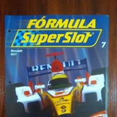 Slot Cars: FORMULA SUPERSLOT - COLECCIONABLE PLANETA DEAGOSTINI - NUMERO 7 - RENAULT R27. Lote 134839238