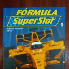 Slot Cars: FORMULA SUPERSLOT - COLECCIONABLE PLANETA DEAGOSTINI - NUMERO 9 - MCLAREN MERCEDES MP4-21. Lote 134839446