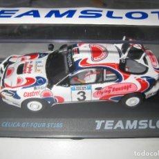 Slot Cars: 11708 - TOYOTA CELICA GT-4 RALLY SAFARI 94 DE TEAM SLOT. Lote 136426582
