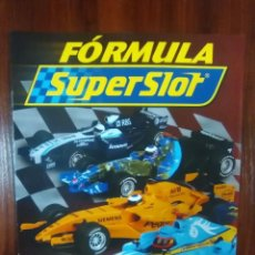 Slot Cars: FORMULA SUPERSLOT - COLECCIONABLE PLANETA DEAGOSTINI - INDICE. Lote 136383770