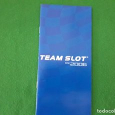Slot Cars: CATALOGO TEAM SLOT PRE 2006. Lote 136507678