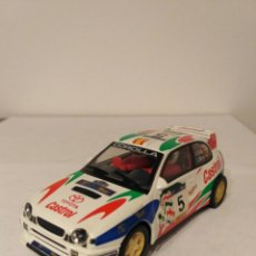 Slot Cars: SCALEXTRIC HORNBY TOYOTA COROLLA. Lote 137556940