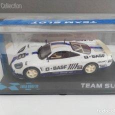 Slot Cars: COCHE DE SCALEXTRIC TEAM SLOT LOLA. Lote 138157670