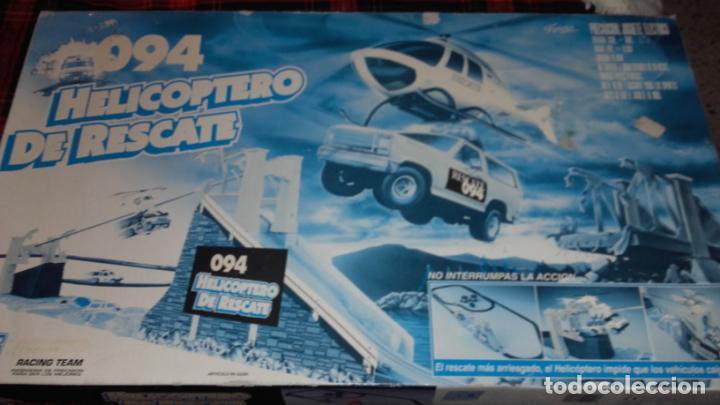 FAMOPLAY HELICOPTERO DE RESCATE 094, PISTA DE COCHES, JUGUETE ANTIGUO, (Juguetes - Slot Cars - Team Slot)