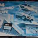 Slot Cars: FAMOPLAY HELICOPTERO DE RESCATE 094, PISTA DE COCHES, JUGUETE ANTIGUO,. Lote 140318370