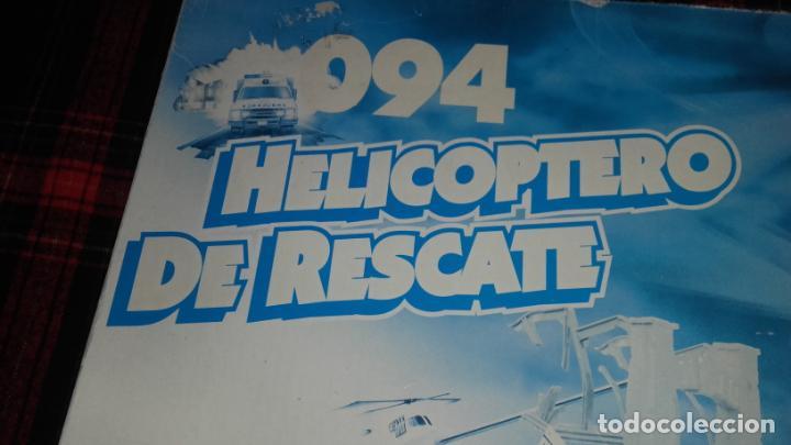 Slot Cars: FAMOPLAY HELICOPTERO DE RESCATE 094, PISTA DE COCHES, JUGUETE ANTIGUO, - Foto 2 - 140318370