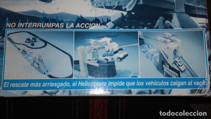 Slot Cars: FAMOPLAY HELICOPTERO DE RESCATE 094, PISTA DE COCHES, JUGUETE ANTIGUO, - Foto 4 - 140318370