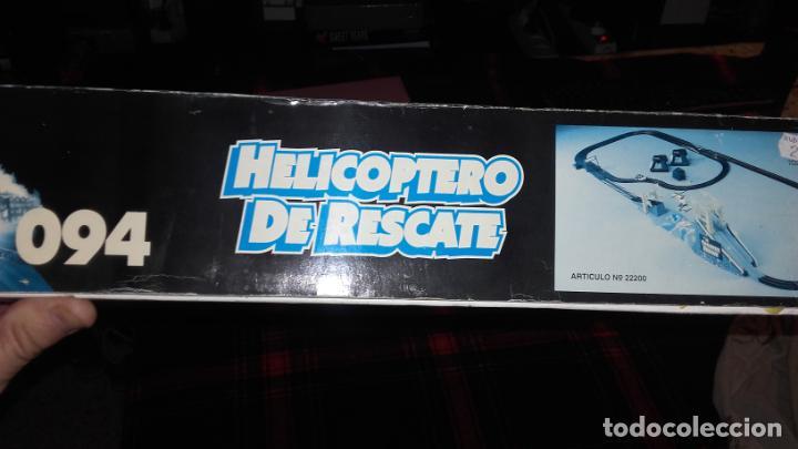 Slot Cars: FAMOPLAY HELICOPTERO DE RESCATE 094, PISTA DE COCHES, JUGUETE ANTIGUO, - Foto 6 - 140318370