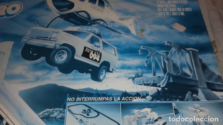 Slot Cars: FAMOPLAY HELICOPTERO DE RESCATE 094, PISTA DE COCHES, JUGUETE ANTIGUO, - Foto 7 - 140318370