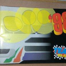 Slot Cars: TEAM SLOT CATÁLOGO 1998. Lote 140730094