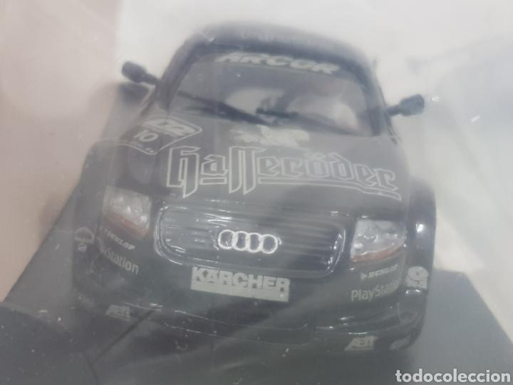 Slot Cars: Team slot Audi TT R ABT team referencia 73401 en negro - Foto 3 - 141889264