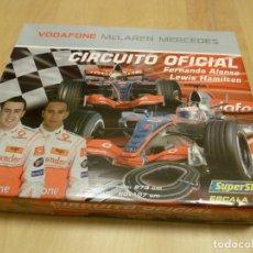 Slot Cars: SUPERSLOT CIRCUITO MCLAREN MERCEDES FERNANDO ALONSO. Lote 142036426
