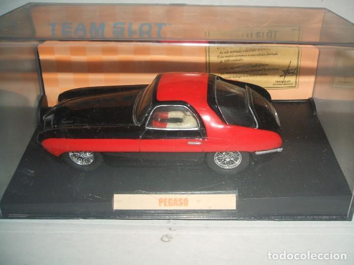 PEGASO DE TEAM SLOT FABRICADO EN RESINA (Juguetes - Slot Cars - Team Slot)