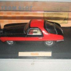 Slot Cars: PEGASO DE TEAM SLOT FABRICADO EN RESINA. Lote 142750138