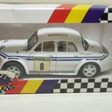 Slot Cars: J-RENAULT DAUPHINE REF 71301 GP5 TEAM SLOT. Lote 142825326