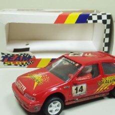 Slot Cars: J- CITROEN ZX 16V RED CATALUNYA TEAM SLOT NUMERO 10103 REFERENCIA DIFICIL DE CONSEGUIR . Lote 143532862
