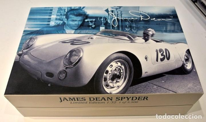 Slot Cars: Slot JAMES DEAN SPYDER , 1:32, Edición Limitada , NUEVO CON CAJA - Foto 4 - 143702498