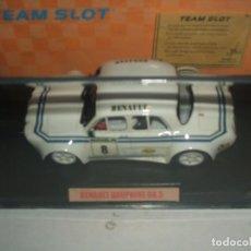 Slot Cars: RENAULT DOUPHINE GR.5 DE TEAM SLOT REF.-71301. Lote 143856194