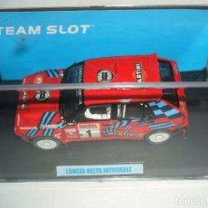 Slot Cars: LANCIA DELTA INTEGRALE DE TEAM SLOT REF.-11203. Lote 143856230