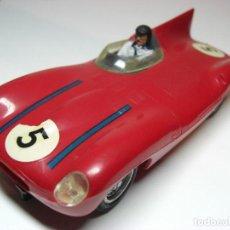 Slot Cars: STROMBECKER. JAGUAR D. ROJO . Lote 143934734
