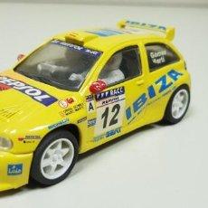 Slot Cars: J- SEAT IBIZA KIT CAR TEAM SLOT . Lote 143998614