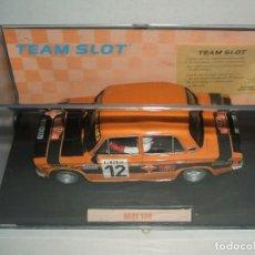 Slot Cars: SEAT 124 DE TEAM SLOT FABRICADO EN RESINA. Lote 144131942