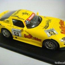 Slot Cars: DODGE 24 H NURBURGRIN COCHE DE SLOT VALIDO PARA TODAS LAS PISTAS DE SCALEXTRIC.#. Lote 146444778
