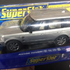 Slot Cars: SUPERSLOT RANGE ROVER NUEVO. Lote 146449870