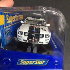 Slot Cars: SUPER SLOT FORD MUSTANG NUEVO. Lote 146450176