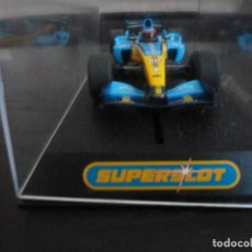 Slot Cars: RENAULT F-1 / R-24- SUPERSLOT REF. H 2582. Lote 146661662