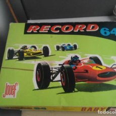 Slot Cars: ANTIGUO CIRCUITO SCALEXTRIC JOUEF RECORD 64. Lote 147981010