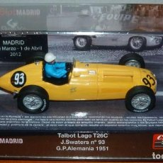 Slot Cars: CARTRIX 0024 TALBOT LAGO T26C #93 JACQUES SWATERS GP ALEMANIA 1951. Lote 148104906