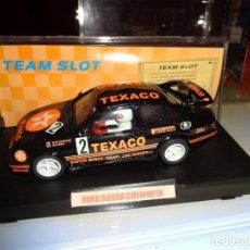 Slot Cars: TEAM SLOT. FORD SIERRA COSWORTH. TEXACO. REF. 71903. Lote 149888758