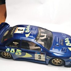 Slot Cars: SUBARU IMPREZZA AZUL TEAM SLOT REF:10602. Lote 151559750