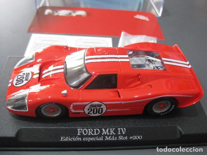 FORD MK IV EDICION ESPECIAL MAS SLOT SOLO 200 UNIDADES DE NSR (Juguetes - Slot Cars - Team Slot)