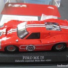 Slot Cars: BLACK FRIDAY - FORD MK IV EDICION ESPECIAL MAS SLOT SOLO 200 UNIDADES DE NSR. Lote 297017838
