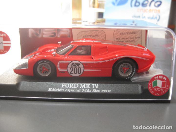 Slot Cars: FORD MK IV EDICION ESPECIAL MAS SLOT SOLO 200 UNIDADES DE NSR - Foto 3 - 154945298